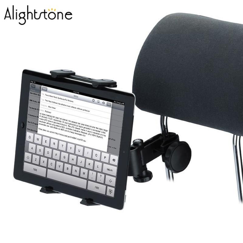 Universal Car Back Seat Headrest Mount Holder Table Mount Holder for iPad 2/3/4 Tablet PC GPS Car Headrest Mount Holder-Black