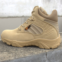 Men's Delta Military Tactical Boots High Quality Waterproof Non-Slip Outdoor Travel Shoes Black Sneakers for Men Hiking Shoes