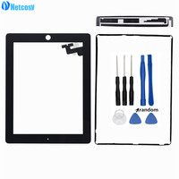 Netcosy Black White Touch Screen Glass Digitizer Repair Parts For Ipad 2 Touch Panel Touch Screen