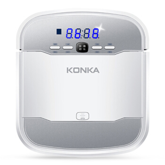 KONKA KC-V1 Smart Robotic Vacuum Cleaner Automatic Remote Control Cleaning Robot Household Intelligent Sweeping Robot цена
