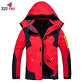 new winter women mens jacket thicken warm coat waterproof fitness breathable mens coat male jacket casual 2 in 1 brand clothing