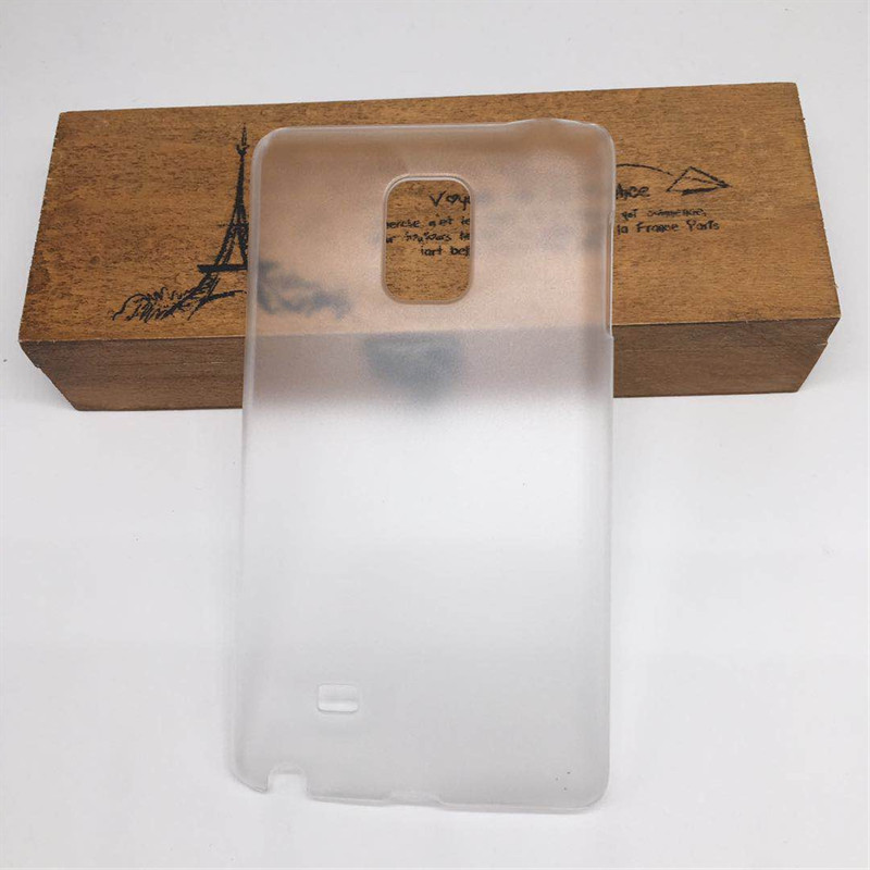 Hard Matte Clear Cover For Samsung Galaxy Note Edge N9150 <font><b>N915</b></font> SM-N915f Frosted Shield Phone Back Half Cover <font><b>Case</b></font> Bag Fuda Capa image