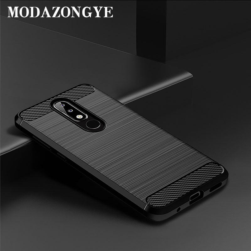 Nokia 5.1 Plus Case Nokia 5.1 Case Silicone Back Cover Phone Case For Nokia 5.1 Plus TA-1105 TA-1108 TA-1120 TA-1112 5.1Plus