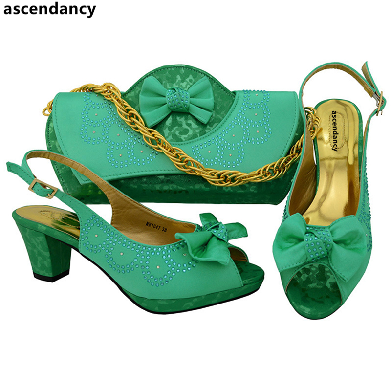 silber water D Verziert Green Und Für Strass Gold Passenden Partei blau Mit Set wein Damen Tasche Schuh purpurrot Schuhe Italienische rot marine Hochzeit teal Blau gwPqrgU