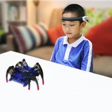 Детские развивающие игрушки, робот-паук с радиоуправляемой волной для самостоятельного управления, развивающие игрушки, обнаружитель волн 1+ игрушка-паук