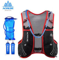AONIJIE   Running   Vest Pack Camping Hydration Backpack Upgraded 5L Sport Bag Marathon Cycling Hiking Men Women
