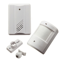 Wirless Infrared Alarm Door Bell Driveway Patrol Garage Infrared Wireless Doorbell Alarm System Motion Sensor