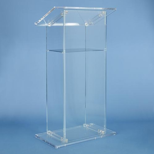 AdirOffice-Acrylic-Stand-up-Floor-Standing-Podium-Lectern-Clear  AdirOffice-Acrylic-Stand-up-Floor-Standing-Podium-Lectern-Clea