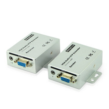 цена на VGA extender 100 meters, audio and video transmitter, single cable rj45 signal amplifier, vga extender