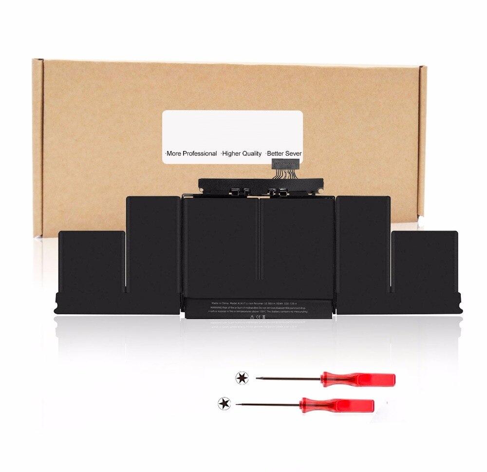 10.95V 95Wh/8460mAh Laptop Battery For Apple MacBook Pro 15