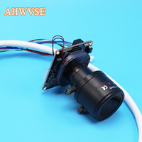 AHWVSE HI3516C IMX322 1080P 25fps IP Camera Module Board With 2 8 12mm Lens Indoor Camera