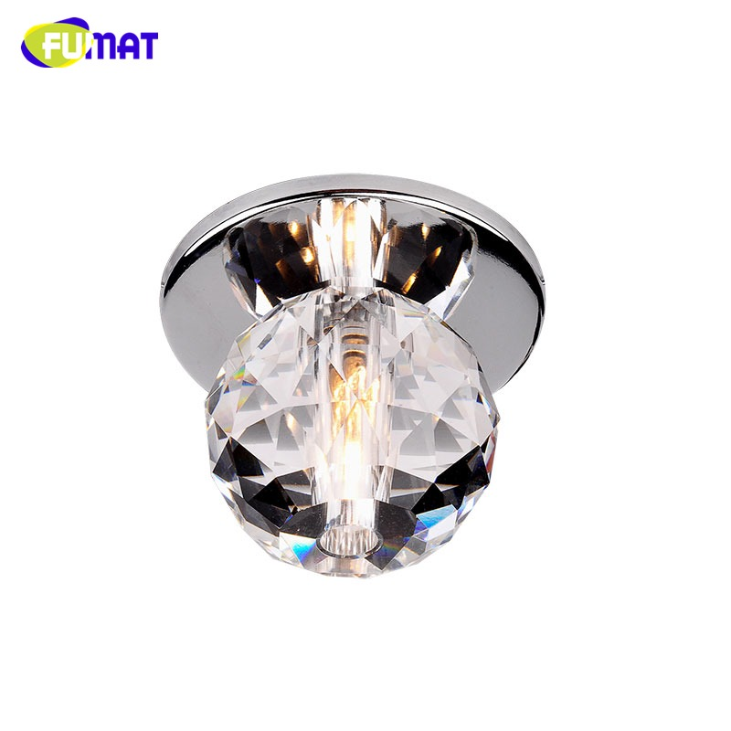 Fumat Modern Ceiling Light K9 Crystal Ball Lustre Mount Hallway Lighting Fixture Led Plafondlamp Luminaria Pendant Ceiling Lamp Comfortable And Easy To Wear Lights & Lighting
