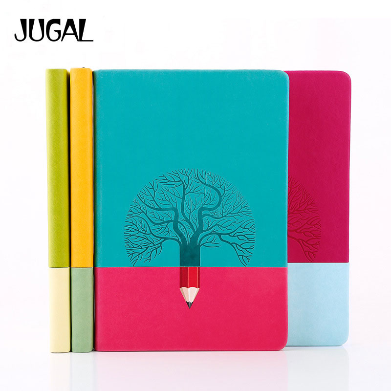 JUGAL Creative Trend Personal Diary a5 Notebook Grid Page And Horizontal Page Hardcover Notebook Japanese School Supplies my beauty diary 10 page 3