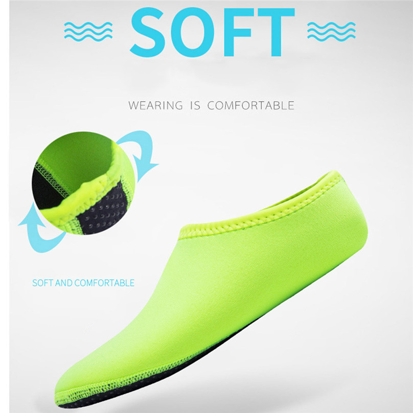 2019 NEW Adult Diving Neoprene Swimming Diving Socks Snorkel Surfing Wetsuit Water Shoes Boots Aqua Shoes #4A24 (12)