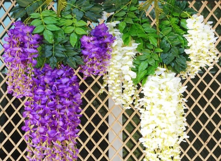 Intergards глицинии искусственный цветок - Товары для праздников и вечеринок - Фотография 6