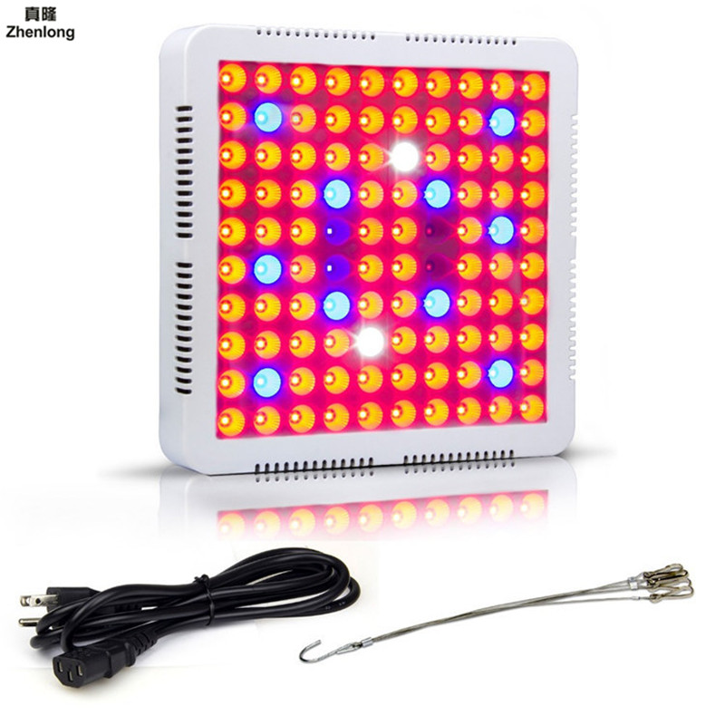 300W Full Spectrum LED Plant Grow Light Lamps for Flower Plant Veg Hydroponics System Grow/Bloom Dropship Flowers Vegetables LED