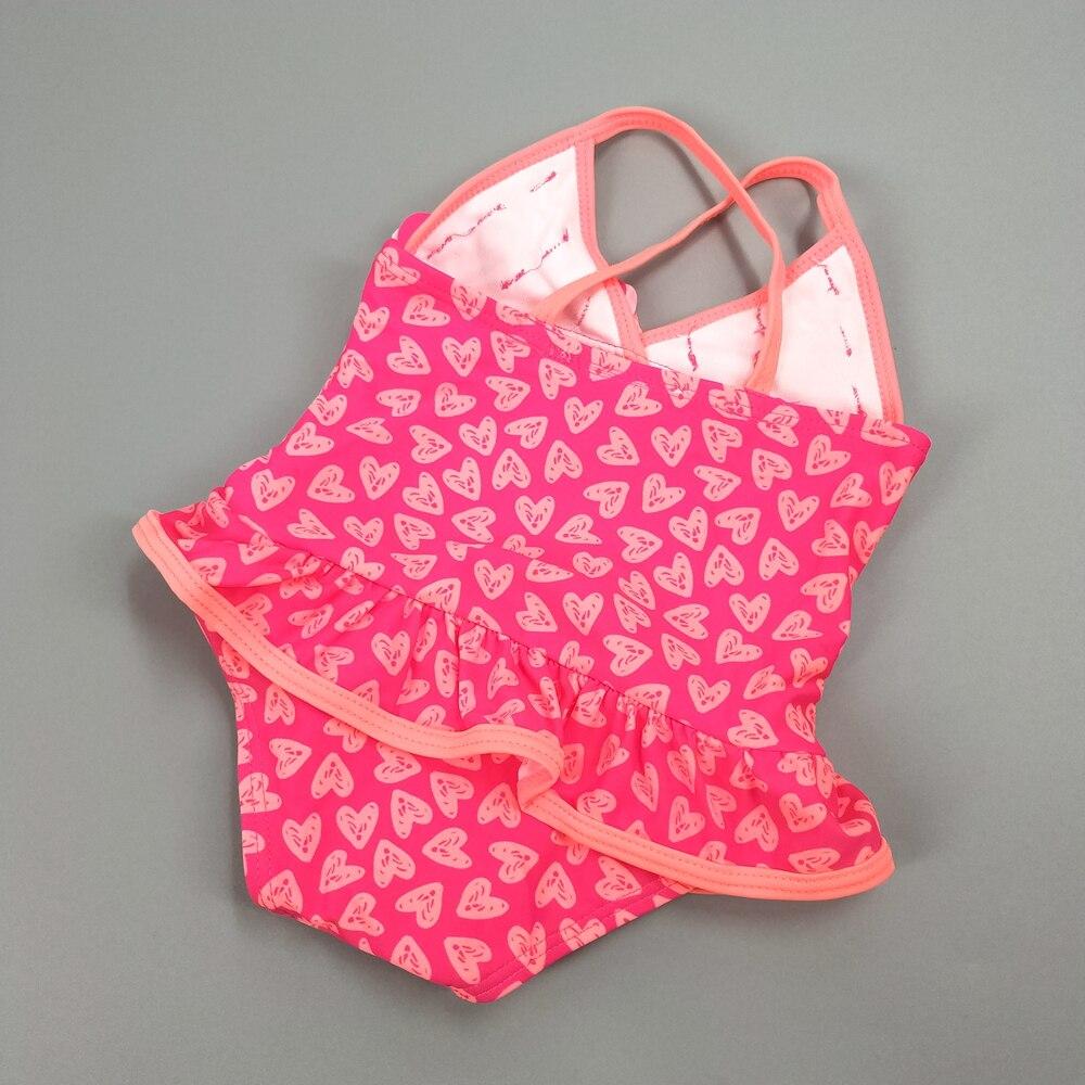 0 5T Chumhey Baby Girls Swimsuit Summer Bebe one piece swimwear infant bathing suit beachwear Swimming suit Swan Bath Suit in Swimwear from Mother Kids