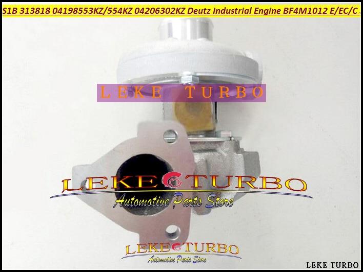 S1B 313818 04198553KZ 04198554KZ 04206302KZ Turbo Turbocharger For Deutz Industrial Engine BF4M1012 BF4M1012E EC/C 3.19LS1B 313818 04198553KZ 04198554KZ 04206302KZ Turbo Turbocharger For Deutz Industrial Engine BF4M1012 BF4M1012E EC/C 3.19L