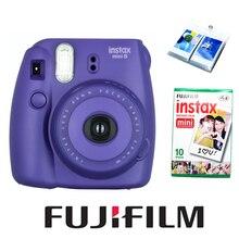 Фильмов фотоаппарат мгновенных fuji альбом instax fujifilm листов фиолетовый фильм mini