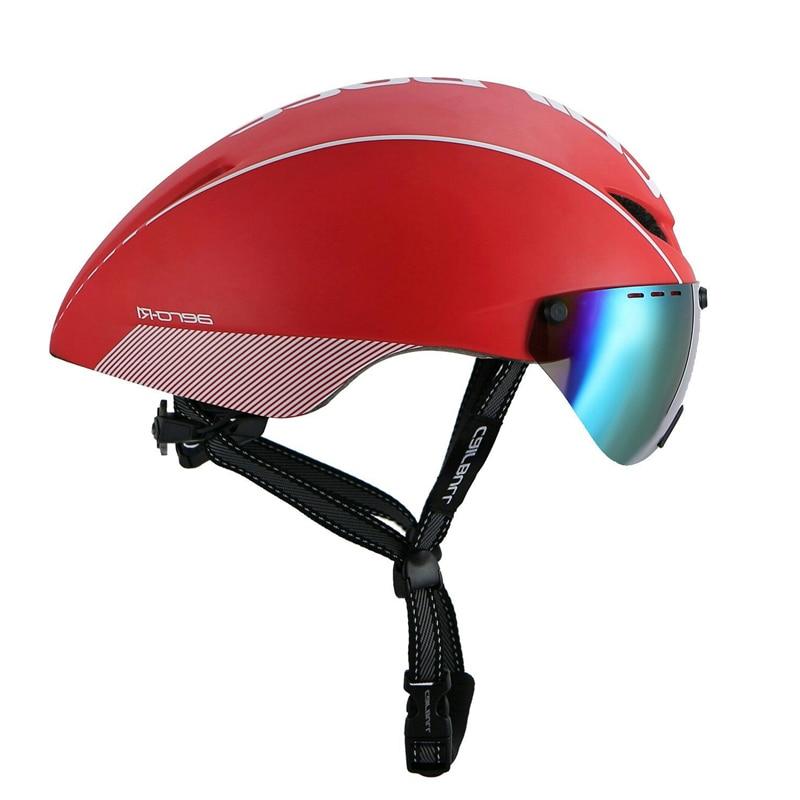 CAIRBULL 300g Cycling Helmet Windproof TT Goggle Bicycle Helmet Mountain Road Racing Bike Helmet Sports Safety Helmet|Bicycle Helmet| |  - title=
