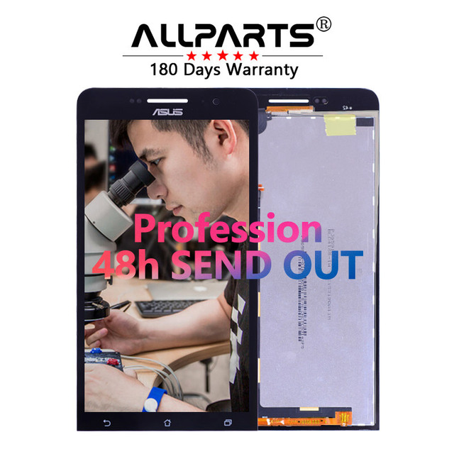 Warranty 6.0'' 1280x720 TFT LCD For ZenFone 6 LCD Display A600CG A601CG T00G Touch Screen Digitizer Replacement Parts