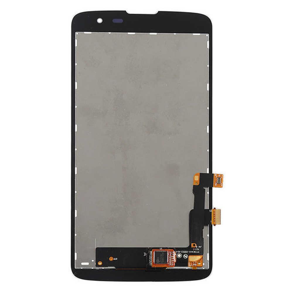 ل LG Q7 X210 x210ds X210g X210MB شاشة الكريستال السائل شاشة رصد وحدة ألواح شمسية + محول الأرقام بشاشة تعمل بلمس الاستشعار الزجاج الجمعية