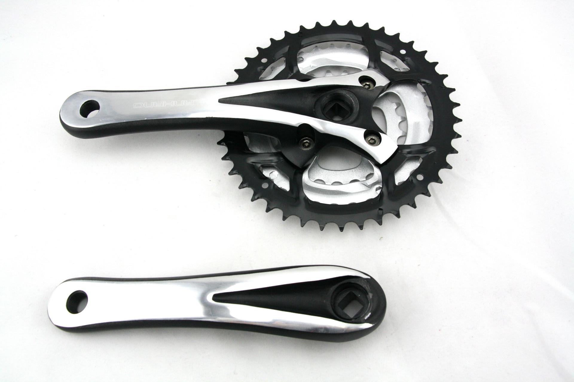 Bicycle Crank Arm Left Right Crankset MTB Road Bike 170mm 130BCD Square Taper