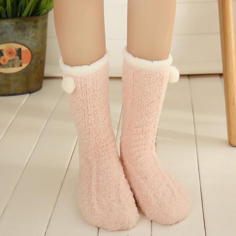 Fuzzy Winter Socks