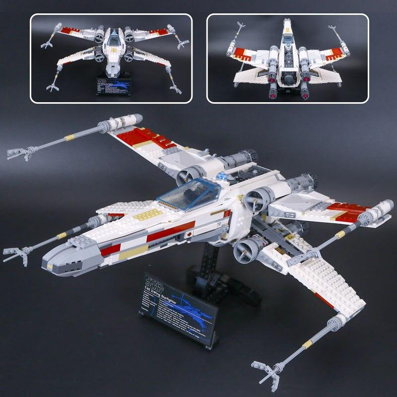 05039 Star Model Wars UCS Rebel Red Vijf X wing Star fighter Compatibel Met 10240 Bouwstenen Kerst Kits Speelgoed kids Gift-in Blokken van Speelgoed & Hobbies op  Groep 2