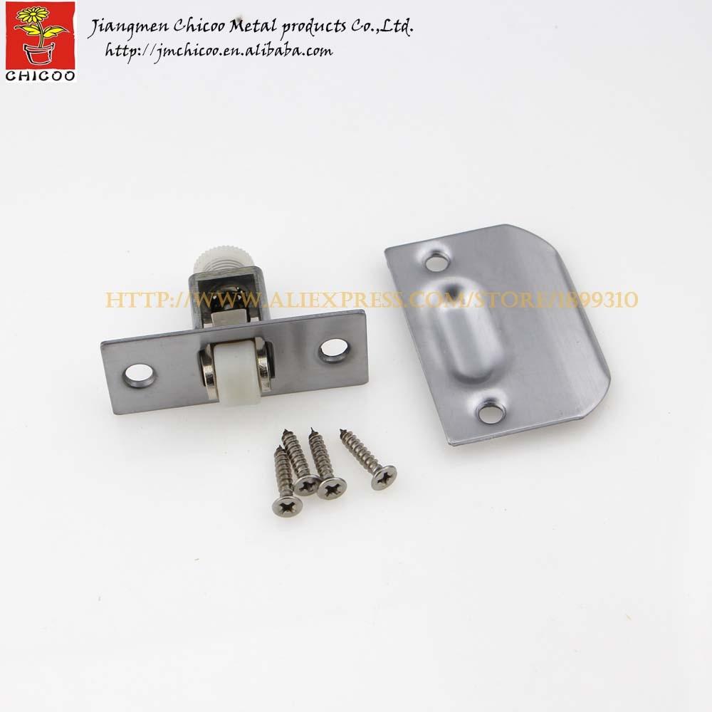 1piece Stainless Steel Zinc Alloy Plastic Door Ball