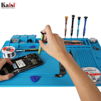 Kaisi S 160 Soldering Station Mat Magnetic Heat Insulation Silicone Pad 124 Screws Position 3 Pcs