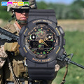 Top Marca Hombres Deportes Relojes LED Digital Reloj de La Manera Al Aire Libre Impermeable de Los Hombres Relojes de Pulsera Relogios masculinos Camuflaje