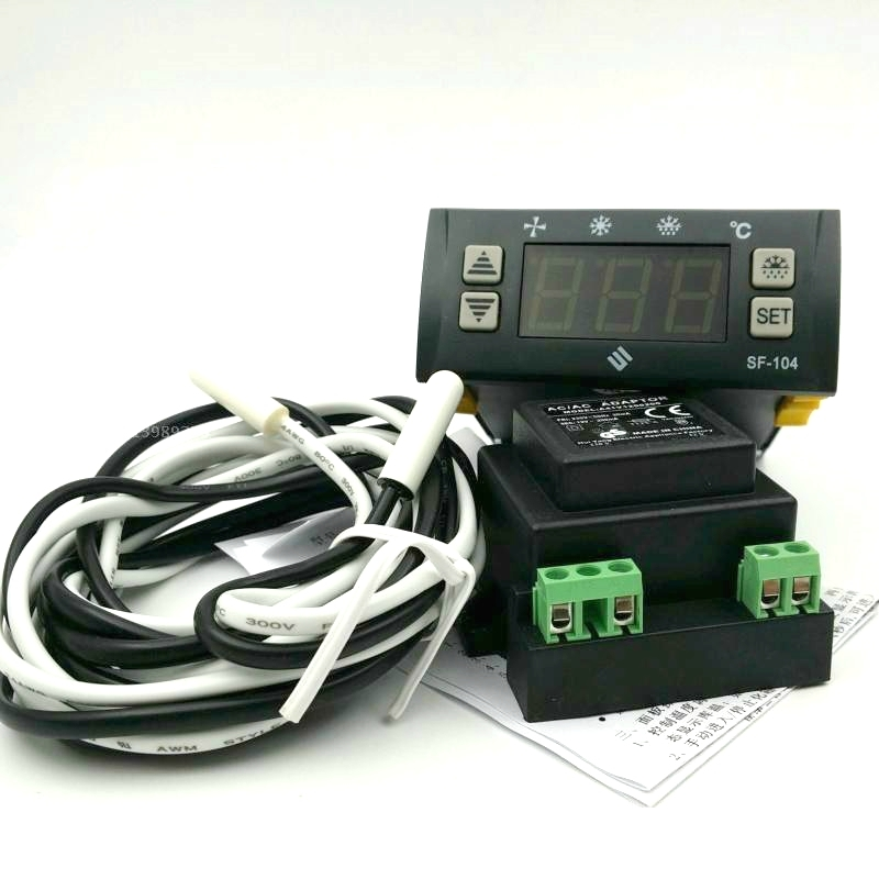 SF-104P SHANGFANG Digital Temperature Controller SF-104-P -45 to 150 degree Refrigerator temperature control taie thermostat fy800 temperature control table fy800 201000