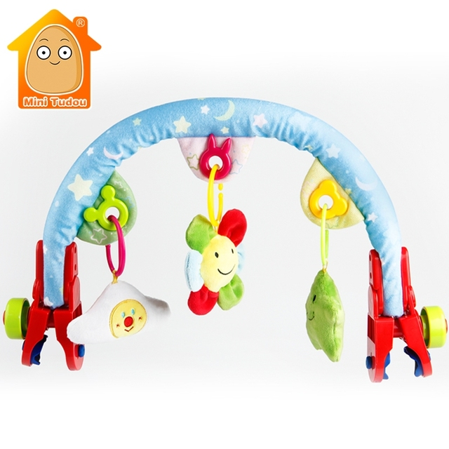 Baby Plush Toys Stroller Car Seat Toy Hanging Cot Mobile For Newborn 0 12