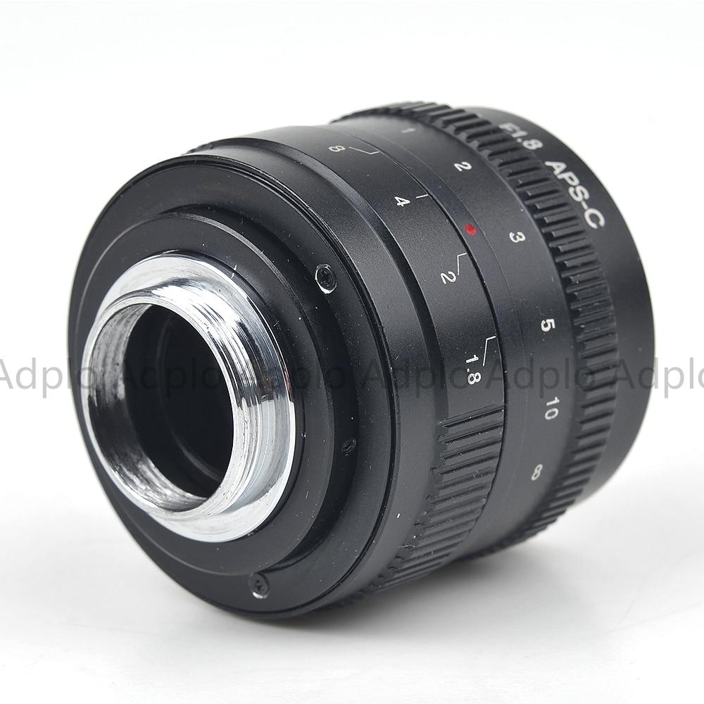 Pixco 50mm F1.8 Odak infinity Televizyon TV Lens / CCTV Lens f / 1.8 - Kamera ve Fotoğraf - Fotoğraf 6