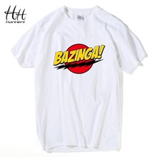 "Awesome unisex ""BAZINGA!"" T-shirt in 4 colors"