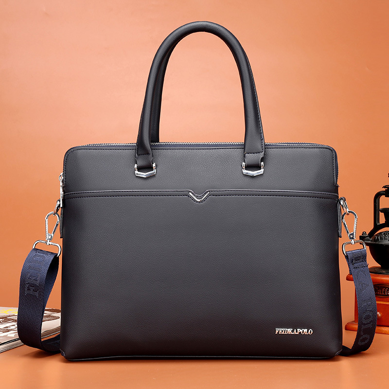 Man Handbag Briefcase Single Shoulder Messenger Bag Designer Luxury Handbags Purses Brand Men Leather Leatherwear Package Male