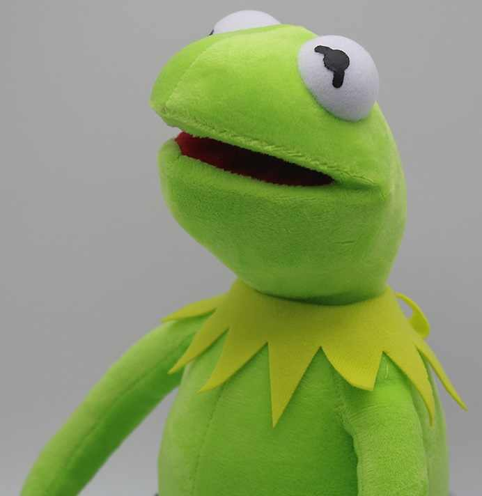 Sesame Street Bambola di Peluche Kermit Giocattolo Rana Peluche Bambola Chid Giocattoli Kermit Giocattoli di Peluche