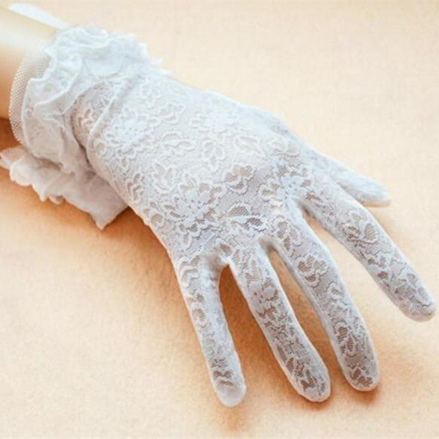 Lady Lace Floral Gloves 5...