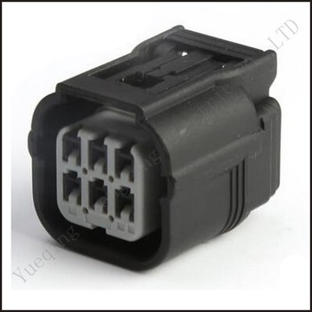 DJ7062A-1-21 car wire connector 6P female cable connector male  connector terminal block Plug socket