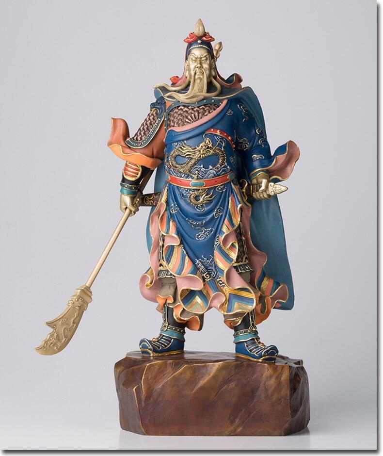 Große # HOME OFFICE SHOP Unternehmen Wirksam Talisman Geld Zeichnung TOP Martial Gott des reichtums Guan gong Guan di FENG SHUI statue-in Statuen & Skulpturen aus Heim und Garten bei  Gruppe 1