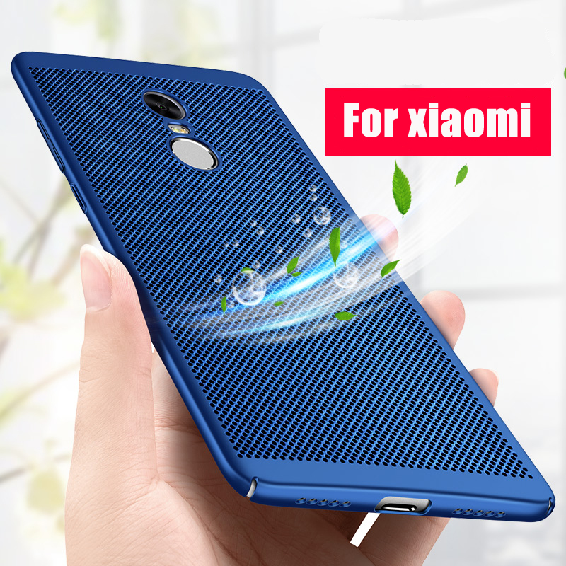 the best attitude a1598 90007 US $1.25 45% OFF|GerTong Heat Dissipation Case For Xiaomi Redmi Note 3 Pro  3S 4X 4A Back Cover Hard PC Coque For Redmi 4X Mi5 Mi6 Phone Cases-in ...
