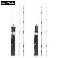 Hi Whale New 47 Cm Ultra Short Ice Fishing Rod With Two Top Part Of The