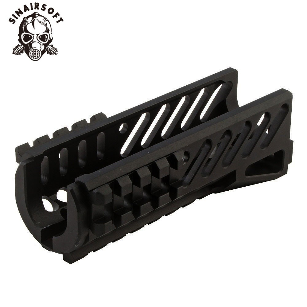 SINAIRSOFT Tactical Aks 74U Picatinny Rail Handguard Multi-function Aluminum Cutting B11 Hunting Airsoft Paintball Accessories