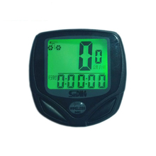 10pcs/lot SD-546C Wireless Stopwatch LCD Display Cycling Bike Speedometer Cycle Waterproof Odometer Bike Computer