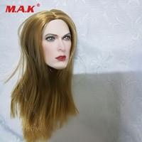1/6 Scale Female Head Accessory Biohazard Alice Blond Female Head Sculpt for TBL Phicen Pale Figure Body Dolls