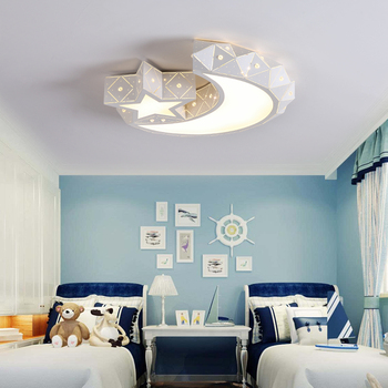 Tavan Işıkları çocuk odası led sıcak yıldız ay yaratıcı karikatür erkek kız alt yatak odası lambaları ve fener LU80366