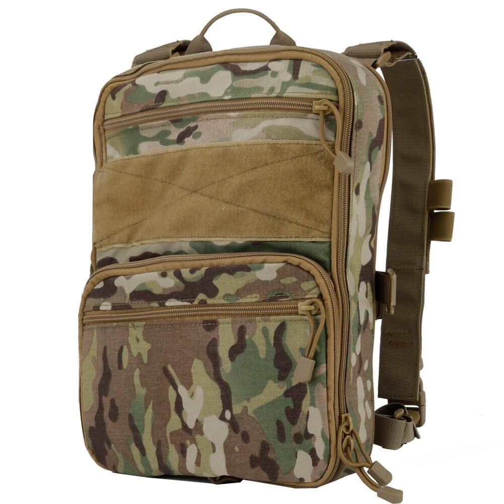Тактический рюкзак камуфляжная Сумка военный рюкзак сумка переменной емкости для спорта кемпинга Пешие прогулки Рыбалка Охота - 4