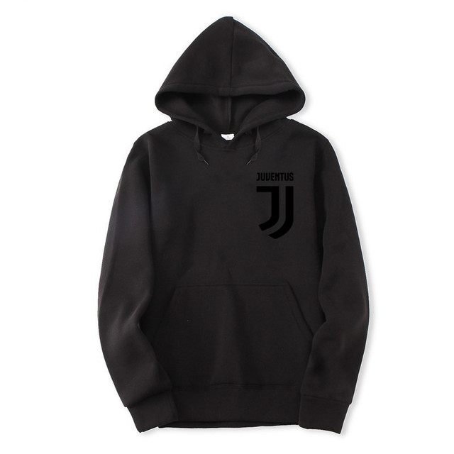 2018 Trendy Juventus Hooded Mens Hoodies and Sweatshirts Oversized for Autumn with Hip Hop Winter Hoodies Men Brand 2