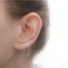 PINJEAS handmade Ear cuff clip on earing Climber Crawler Bar